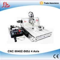 Wholesale 4 axis cnc wood engraving machine Z S65J W cnc milling machine for wood metal pcb Aluminum