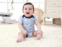 Wholesale MotherNest Baby Rompers Unisex Short Sleeve Cotton O Neck M Novel Newborn Baby Clothes Newborn Girls Boys Bodysuit Infat Summer Wear