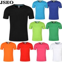 assorted tees - JSEO Men Jersey T Shirt Short Sleeve Performance Shirts Solid Crew Neck Tee Basic Shirt Assorted Colors