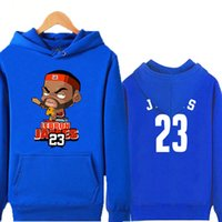 basketball team clothing - Lebron James hooded fleece single men and women s basketball team fans clothes autumn winter wool coat upset teenage student