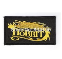 animate names - 3 quot The Hobbit Dragon and Name Logo Animated Cartoon Movie TV Series Embroidered Emblem applique iron on patch