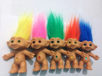 Wholesale 2016 cm Troll Doll action figure Leprocauns Dam doll Original Monster Doll littlest pet shop cat toy for children hot toy For Christmas fr