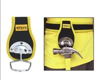 Wholesale BESTIR Hammer Holder With Metal Hooks WAIST BAG universal tools bag oxford composite material NO and retail