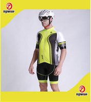 Wholesale The new summer riding short suit men breathable wicking UV color short sleeved bicycle wear suits