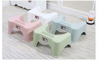Wholesale thick plastic squatting basin bathroom non slip squatting pots adults and children common squatty potty