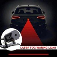 Wholesale Car Anti Collision Rear end Car Laser Tail Fog Light Auto Brake Parking Lamp Rearing Auto Brake Warning Light