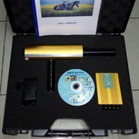Wholesale 2016 New Updated Version Microchip Processor AKS Lang Range Underground Gold Silver Gem Diamond Metal Detector Free DHL shipping