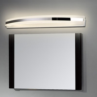 Wholesale Mirror Bedroom Bathroom LED Wall Lamps W W Modern Brief AC V LED Wall Lights with Metal Arcylic for Toilet
