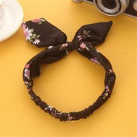 Cheveux France-Accessoire cheveux mitre Coréen nouveau style bowknot bande de cheveux design et couleur bande de tête vogue preppy chic ornement Hair Ribbons