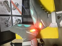 ballet shoes boots - 2017 Air Mag Men Limited Edition Back To The Future McFlys Top Quality Marty Shoes With LED Lights