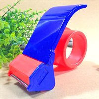 Wholesale mm Plastic Handy Adhesive Tape Cutter Tape Dispenser Carton Packing Tape Sealer