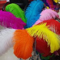 Wholesale Cm inch Top Quality Fluffy Ostrich Feather Wedding Decoration Supplies Multicolor