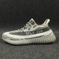 Wholesale New BOOST V2 Sply Gray Glow In Dark Black Orange Red Copper Green MEN Running Sneaker Shoes