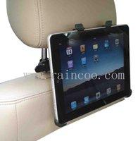 Montaje al por mayor del apoyo para la cabeza del coche para el ipad 1, sostenedor del apoyacabezas del coche para el ipad 1, tamaño perfecto, embalaje del bolso de los PP
