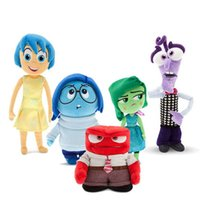 Wholesale set CM Plush Inside Out Stuffed Animals plush Toy Dolls