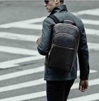 bag designers names - Luxury Brand Backpack Designer Brand Name Mens Backpacks HIgh Quality Genuine Leather Backpack Real Leather Backpack M58024