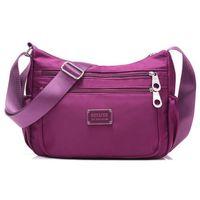 Wholesale Women Crossbody Hobos Bag Ladies Nylon Handbag Travel Casual Bag Leisure Fashion Bags Bolsos Mujer Brand Bag Purse S