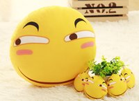 Wholesale New Arrival Funny Face Pillow Animation Two Dimension Spoof Plush Toys Hot Selling Funny Pillow