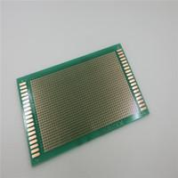 Wholesale 9x15 cm PCB Experimental Plate Circuirt PCB Hole Bread Board For Arduino green oil universal board experimental board