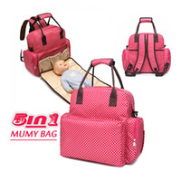 Wholesale New Brand baby diaper bag mummy bag nappy bags multifunctional fashion mother handbag waterproof Mama bag