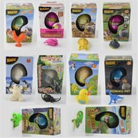 Wholesale Hot Easter Egg dinosaur eggs Growing pet Hatchimals egg variety of animals eggs can hatch out animals creative toys for Christmas gift