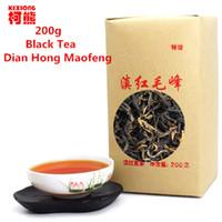 al por mayor té de china yunnan-C-HC041 Dian hong maofeng té 200g gran congou té negro rojo rojo chino mao feng dian hong famoso yunnan té negro 200g
