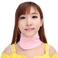 Wholesale Natual Plant Gel SPA Neck Wrap Mask Moisturizing Belt Firming Whitening Moisturizing Collagen Neck Collar Skin Care