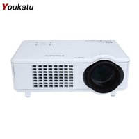 Ingeniería mayorista España-Venta al por mayor-Youkatu T928 Home Theater LCD Proyector 3000 Lumen de alto brillo Educación Education1280 x 768 Pixel FHD 1080P Media Player
