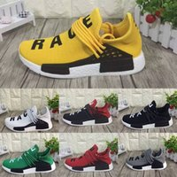 Wholesale Top quality Men HumanRace NMD Running shoes women sport Original Human Race sneakers athletic Casual shoe cheap