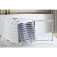 Wholesale Electric Food Fruit Dehydrator Plastic tray Adjustable Temperature Control trays