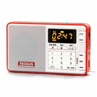 Wholesale TECSUN Q3 Portable FM Radio Digital MP3 Player Support Recorder Tecsun Radio Broadcast Recorder For Meeting Learning Drop Ship