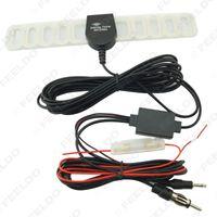 Precio de Car antenna amplifier-Antena de radio del coche 2IN1 TV / FM TV Antena amplificador + Booster, tiempo de la larga vida y calidad del urantee