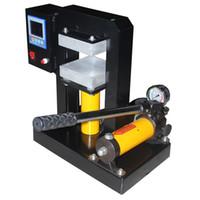 automatic paper plate machine - High Pressure x5 dual heating plates hydraulic rosin press machine