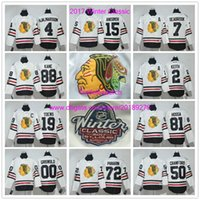 Wholesale 2017 Winter Classic Chicago Blackhawks Duncan Keith Jonathan Toews Corey Crawford Artemi Panarin Patrick Kane Hossa Hockey Jerseys