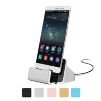 Wholesale Dock Charger USB Sync Data Cable Docking Station Charging Desktop Cradle Stand for Android Type c Mobile Phones Universal