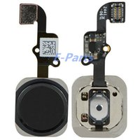 Wholesale iPhone Home button with flex cable touch ID replacement parts For iPhone iPhone6Plus