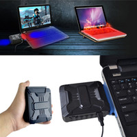 Wholesale V6 Mini Vacuum USB Laptop Cooler Air Extracting Exhaust Cooling Fan CPU Cooler for Notebook P4PM NI5L