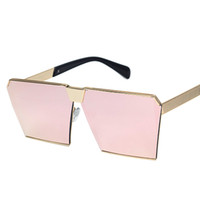 Fashion aluminum color code - Chao s code men joker sunglasses street snap beach women sunglasses star personality with glasses