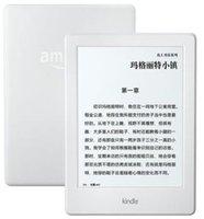Ebook blanc Prix-NOUVEAU NOUVEAU NOUVEAU BLANC COULEUR nouveau Kindle 6 maintenant avec le lecteur d'eBook de contact 4GB, Wi-Fi, 6