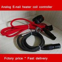 Controlador analógico del Enail Controlador del calentador de Dnail los EEUU 110V o la UE 220V con el calentador de la bobina de 16m m 20m m Apto todo el XLR Kelvar compatible para el clavo del cuarzo