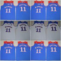 Wholesale Josh Jackson Kansas Jayhawks Andrew Wiggins College Basketball Jerseys New Style Stitched New Arrival Jersey