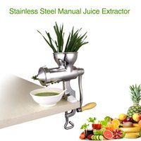 Wholesale New Type Hot Sale stainless steel household manual juicer manual slow juicer manual citrus juicer