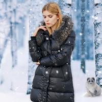 artificial fur hat - Women s Fashion Sexy Down Women s Winter Clothing Girl s Jacket Artificial Fur Lining Ladies Fur Jacket Coat Jacket