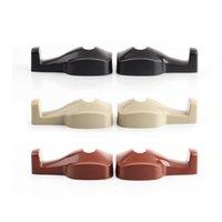 Apoyo para la cabeza del coche bolsa de montaje Baratos-100set 2 piezas de coche asidero gancho asiento trasero titular suspensión bolsas de equipaje montar soporte de alta calidad ABS hecho práctico en coche multi-propósito gancho