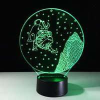 No aquarius gifts - Virgo Scorpio Leo Pisces Gemini Aquarius D LED NightLight Colorful Atmosphere Decoration Table Lamp for Children Gift Home Decor Touch