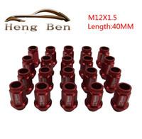 Wholesale HB D1 Spec Racing Racing Wheel Lug Nuts M12x1 For Toyota Mitsubishi Honda L MM