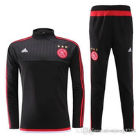 ajax shipping - top thai Ajax Tracksuits polyester Best Quality Sport Clothes Training Suits Men s Football Team Uniforms