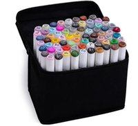 alcohol gift box - TOUCH7 Art Marker pen Double Headed Mark Set Colors Mark Pen Alcohol Oil Animation Design Paint Sketch Markers hot gifts