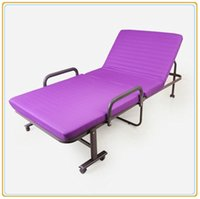Wholesale Twin Cot Easy Carry Furniture Folding Extra Bed for Hotel cm