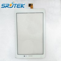 7.9 Universal For Ipad Wholesale-For Huawei Mediapad T1 3G S8-701u White Touch Screen Digitizer Sensor Outer Glass Tablet PC Replacement Parts White